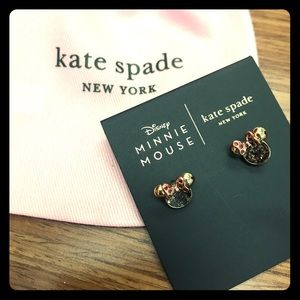 Kate Spade Minnie Mouse earrings - ADORABLE!